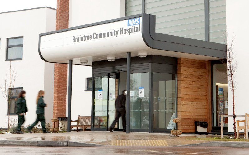 Braintree Community Hospital - NHS Photo