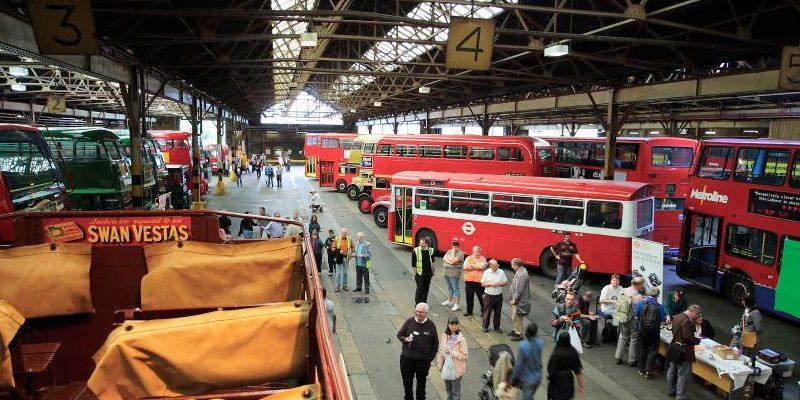 Metroline Holloway Bus Garage Photo