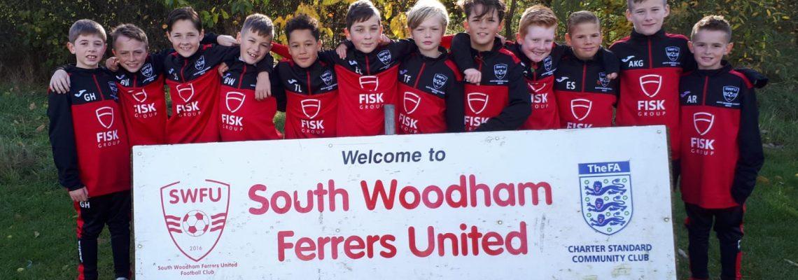 Sponsoring South Woodham United U11
