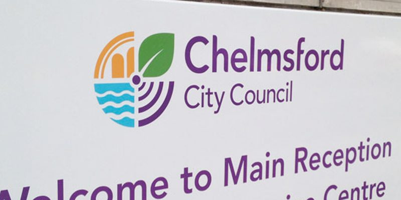 Chelmsford City Council Signage